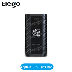 IJOY Captain PD270 Box Mod, IJOY CAPTAIN Dual 20700 Batteries Box Mod