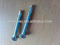Round head washers with self tapping screws modified truss head,sharp point 4.2x13~4.2x75