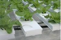 100x50mm Hydroponic NFT plastic gully cover for plant