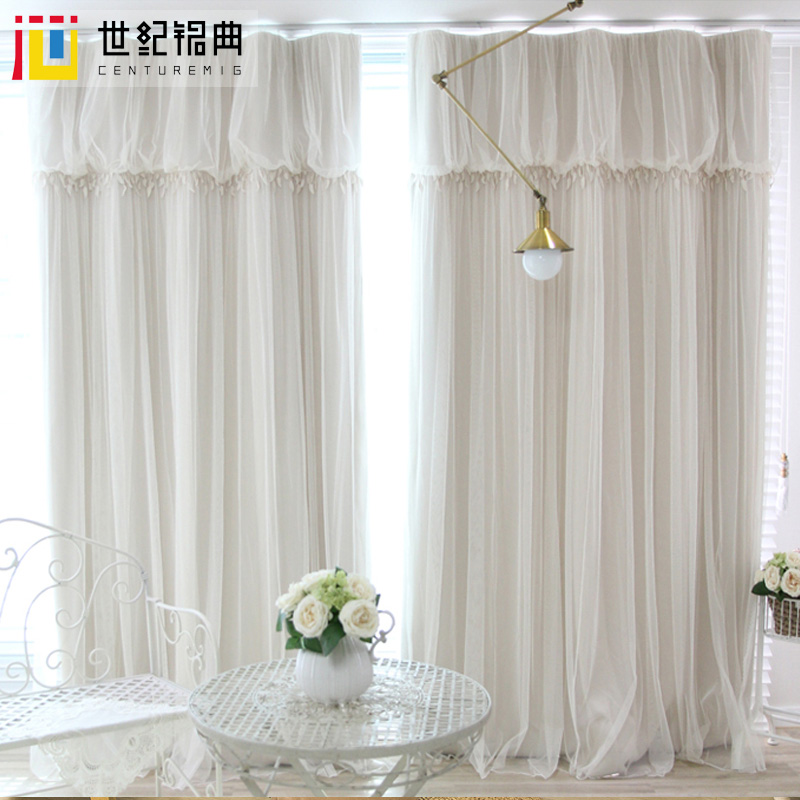 wedding lace curtain