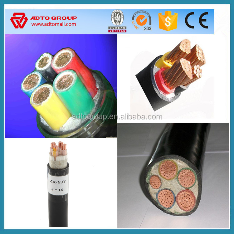 high quality electric wire Radiant cross-linked polyolefin insulated power cables of rated voltage 0.6/1kV