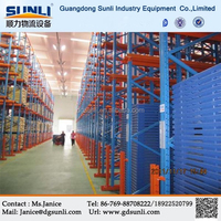China Metal Drive In Cold Storage Racking Warehouse