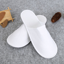 Room hotel one-time Non-woven Fabric Towel Hotel Disposable Slippers Travel Spa Guest Shoes