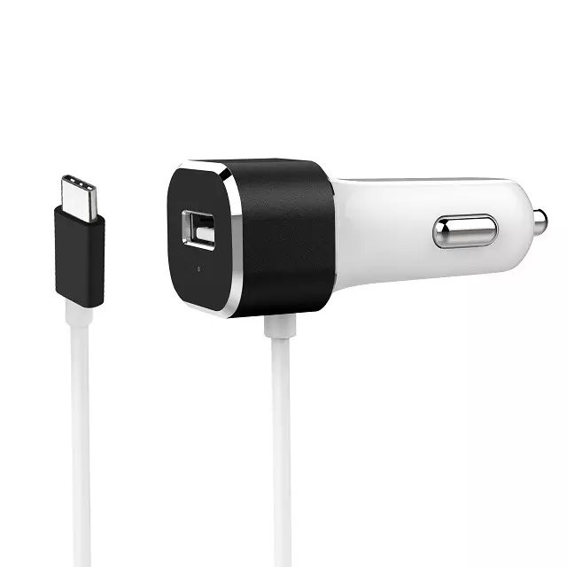Best Quality USB Type C Car charger with output 5V 5.4A CE,FCC,RoHS