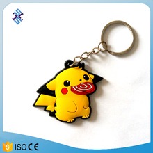 Funny unusual price PVC keyring producer