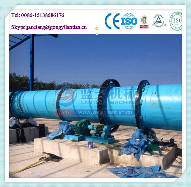 Wet coal sand rotary drum drying machine sawdust dryer supplier