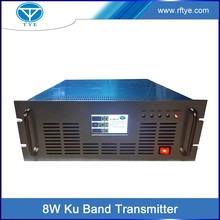 TY-3480 QPSK modulation 8w ku band RF wireless terrestrial digital signal tv transmitter