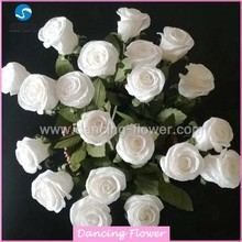 Venta totalde decoración del hogar artificial Rose Flower Bouquet (SFCH-06)