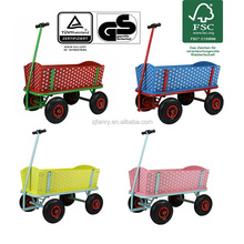 Wooden track cart hand wagon folding wagon