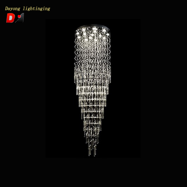 overhead ceiling lamp DY3311-14 Round crystal light modern pendant light