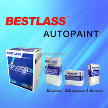 Good Leveling high brightness Clear coat refinish car paint