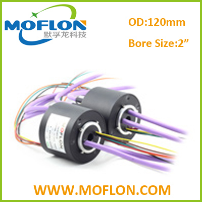 MB500 slip ring with profibus,devicenet,profinet,canbus from MOFLON
