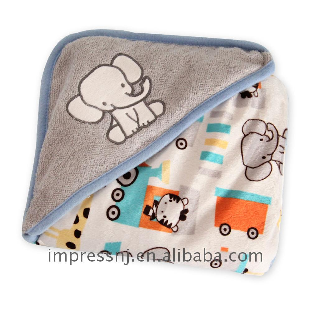Factory price wholesale 100% polyester printed coral fleece blanket