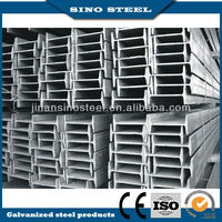 Hot product ss400 galvanized steel i beam