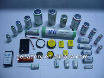 DD ER341245 LiSOCl2 battery cell