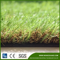 Sports football artificial grass turf with beautiful colors