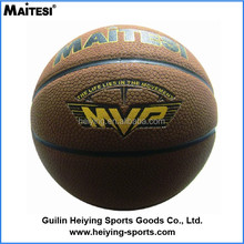 New arrival durable PU basketball customized in bulk