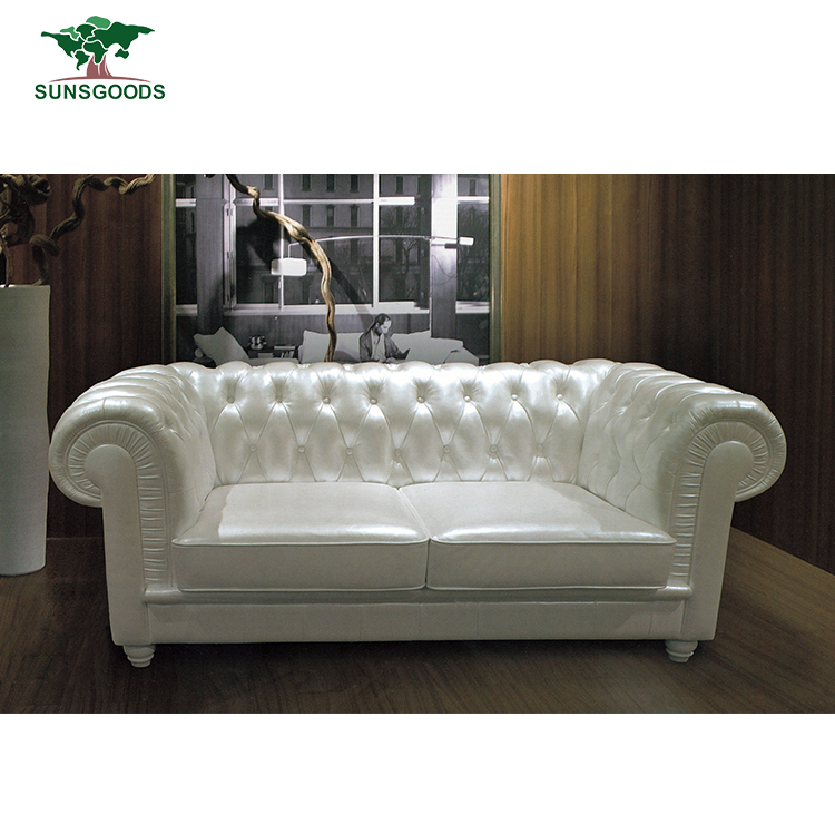 Factory Wholesale Sofa Trend Furniture Manufacturer,White Antique French Sofa
