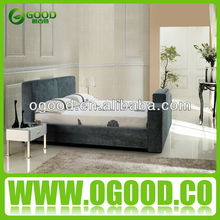 Living Room Furniture Modern Storage Bed with Gas Lift / TV Beds OB002