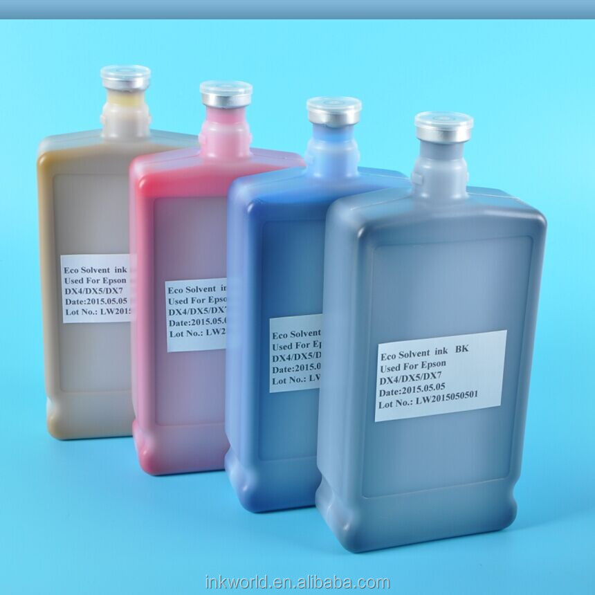 the most popular eco solvent ink for Wit color Ultra 9000 eco solvent printer with DX5 head