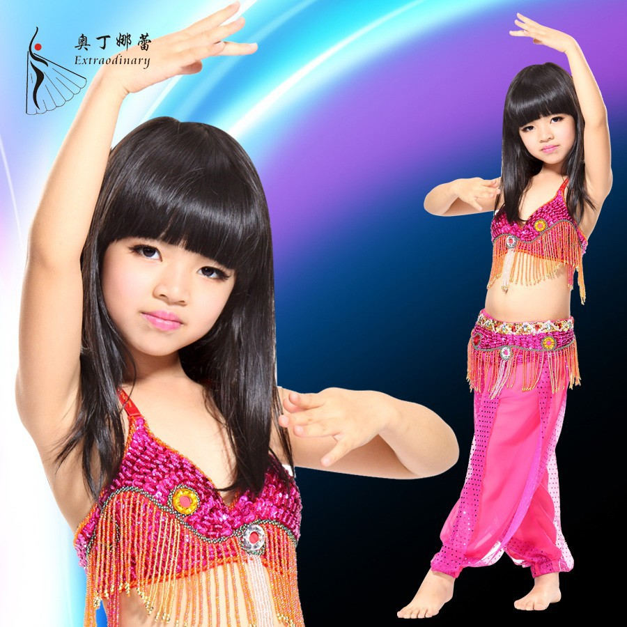 belly dance clothes children dance costumes
