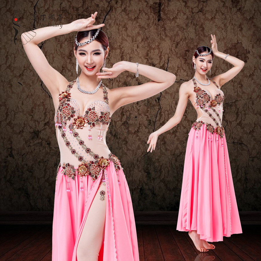 adult professional costume ballroom Egyptian belly dance dress