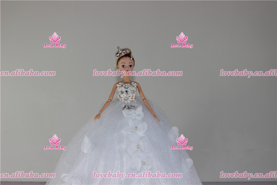 Lovebaby Eco-friendly material customized barbie doll for kids LBT20160408-12
