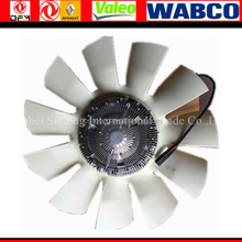 Pure Dongfeng truck part fan with solicon clutch assy 1308060-T3700