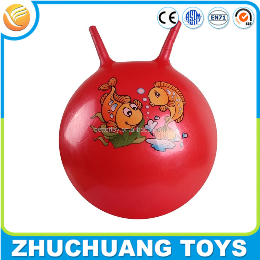 cheap pvc inflatable jumping hopper skippy ball toy ball for kids