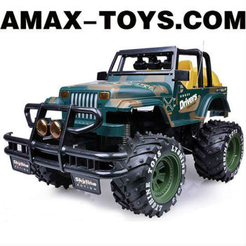 rj-0583033 rc car jeep 4CH Emulational Remote Control Jeep with Shock Absorptions