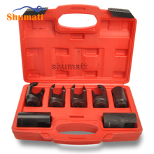 7PCS Diesel Injector Nozzle Socket Set 25mm 27mm 28mm 29mm 30mm 46*27 46*30