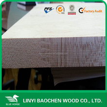 25mm Radiate pine edge glued solid wood panels/Linyi wooden factory / finger joint panel, board