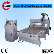 CNC MDF/Door/Furniture/Wood Engraver With ATC/DSP/Vacuum Table/Dust Collecting System JCUT-25H