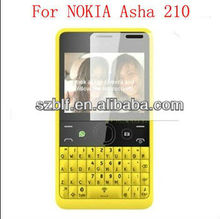 Newly ultra thin clear screen protector for nokia asha 210 hot sell