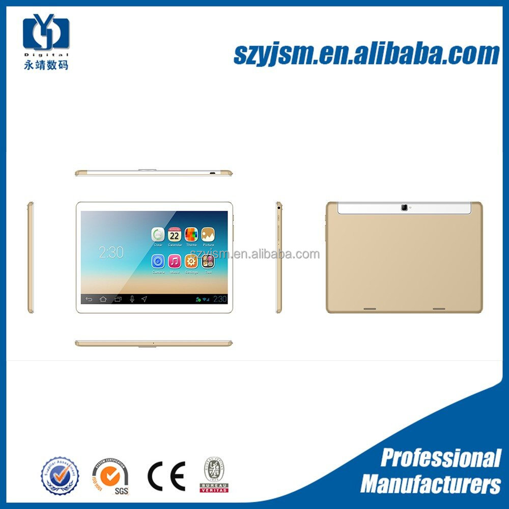 High configuration 10inch 4g lte tablet pc android 6.0 octa core 2gb 32gb