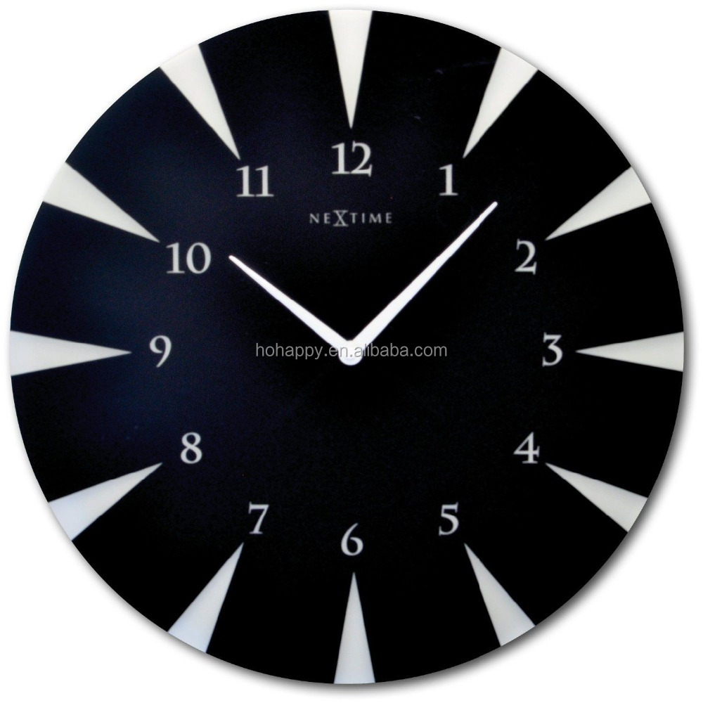 high quality art painting wall clock