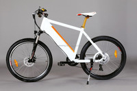 26 inch electric bike 250w fashional battleship model