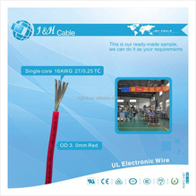 1.5mm colored electric pvc insulated stranded transparent wire cable color code size price for sale