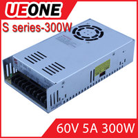 Factory direct switching power supply S-300 60V DC 5 amp