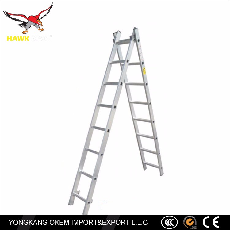 OEM customized Eco-friendly aluminium extension ladders