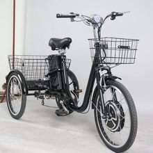 small tricycle 3 wheel electric bicycle for sale with pedal