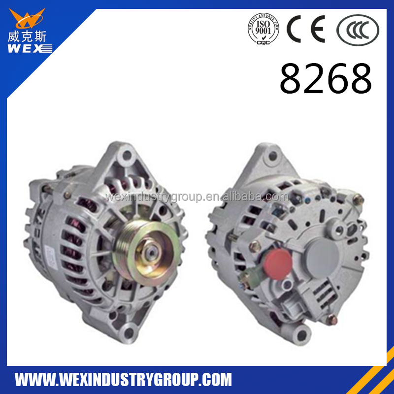 car alternator rebuilt alternator remanufactured alternator 8268 12V 110A 2F1U10300DA 2F1Z10346AA 2F1Z10346DA 2F1Z10346DARM F