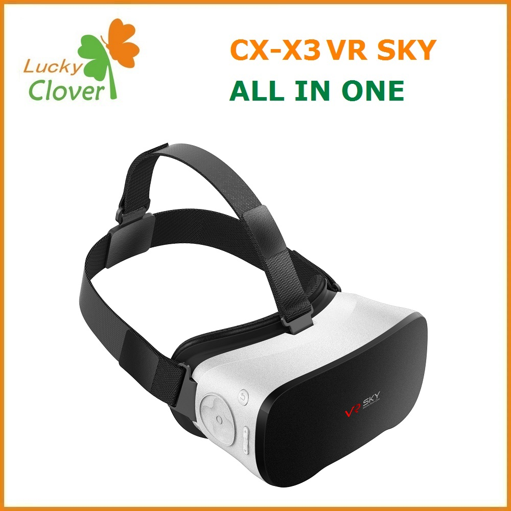 New Arrival high tech CX-V3 2G/16G Smart TOPLEO 3d vr headset 2016 All in one 3D VR HEADSET
