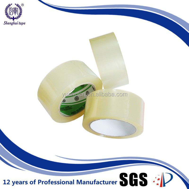 HS code customized clear packing tape