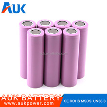 18650 High Discharge Rate Battery Cells Lipo Battery Cell 3.7v 2000mah