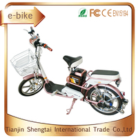 for women classic 36v rear carrier electric motorcycle