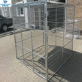 1.8Wx1.8Hx1.8L with plated roof kennel dog cage galvanized monkey cage parrot cat pigeon