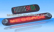 wholesale alibaba express wireless control 12v message moving scrolling advertising led car rear window digital display