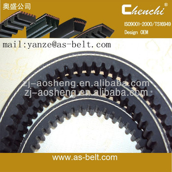 automobile oem spare part/ auto cogged v-belt