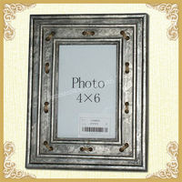 antique collage metal photo frame